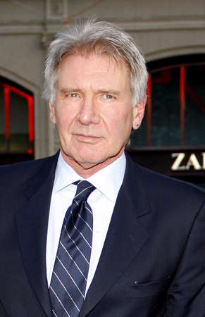 premiere: Harrison Ford at the 42 Los Angeles Premiere at TCL Chinese Theater on April 9, 2013 in Hollywood, California.