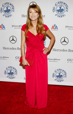 jane: BEVERLY HILLS, CA - OCTOBER 25, 2008: Jane Seymour at the 30th Anniversary Carousel Of Hope Ball held at the Beverly Hilton Hotel in Beverly Hills, USA on October 25, 2008. Editorial