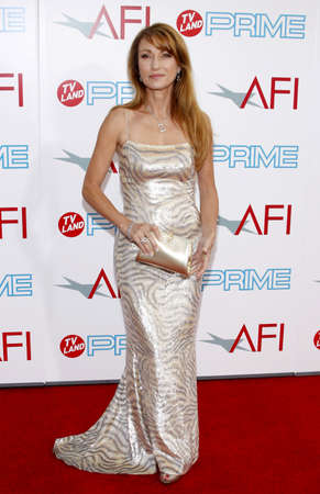 culver city: Jane Seymour at the 37th AFI Lifetime Achievement Award: A Tribute to Michael Douglas held at the Sony Pictures Studios in Culver City on June 11, 2009.