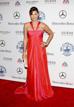 BEVERLY HILLS, CA - OCTOBER 25, 2008: Daisy Fuentes at the 30th Anniversary Carousel Of Hope Ball held at the Beverly Hilton Hotel in Beverly Hills, USA on October 25, 2008.