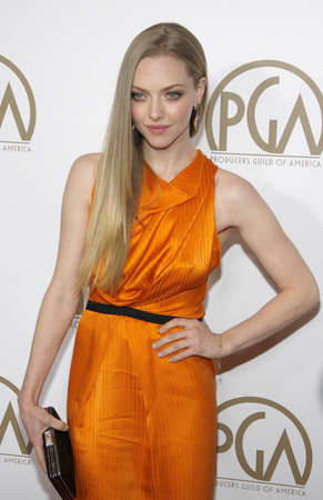 amanda: Amanda Seyfried at the 24th Annual Producers Guild Awards held at the Beverly Hilton Hotel in Beverly Hills, USA on January 26, 2013. Editorial