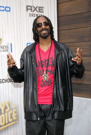 culver city: Snoop Dogg at the 2013 Spike TV Guys Choice Awards held at the Sony Pictures Studios in Culver City in Los Angeles, USA om June 8, 2013.