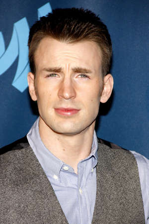 Chris Evans at the 24th Annual GLAAD Media Awards held at the JW Marriott Hotel in Los Angeles, United States, 200413. Editorial
