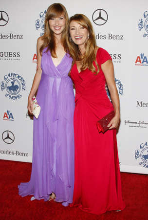katherine: BEVERLY HILLS, CA - OCTOBER 25, 2008: Jane Seymour and Katherine Flynn at the 30th Anniversary Carousel Of Hope Ball held at the Beverly Hilton Hotel in Beverly Hills, USA on October 25, 2008.