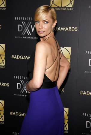 guild: Jaime Pressly at the 20th Annual Art Directors Guild Excellence In Production Design Awards held at the Beverly Hilton Hotel in Beverly Hills, USA on January 31, 2016. Editorial