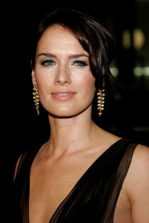 lena: Lena Headey attends the Los Angeles Premiere of 300 held at the Graumans Chinese in Hollywood, California on March 5, 2007.