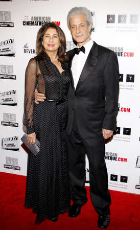 to paula: Rick Nicita and Paula Wagner at the 25th American Cinematheque Award held at the Beverly Hilton hotel in Beverly Hills, USA on October 14, 2011. Editorial