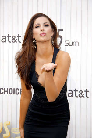 webb: Katherine Webb at the 2013 Spike TV Guys Choice Awards held at the Sony Pictures Studios in Culver City in Los Angeles, USA om June 8, 2013.