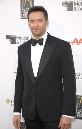 hugh: CENTURY CITY, CA - MAY 01, 2010: Hugh Jackman at the 5th Annual A Fine Romance Benefit held at the Fox Studio Lot in Century City, USA on May 1, 2010. Editorial