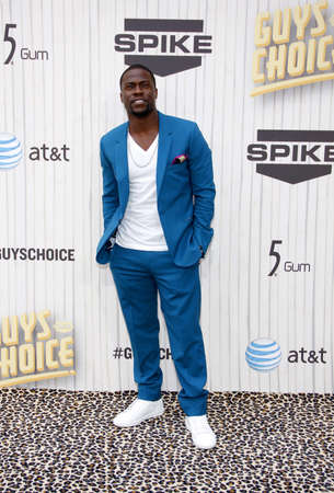 Kevin Hart at the 2013 Spike TV Guys Choice Awards held at the Sony Pictures Studios in Culver City in Los Angeles, USA om June 8, 2013. Redakční