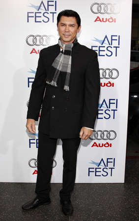 lou: Lou Diamond Phillips at the AFI FEST 2008 Centerpiece Gala Screening Of Che held at the Graumans Chinese Theatre in Hollywood on November 1, 2008.