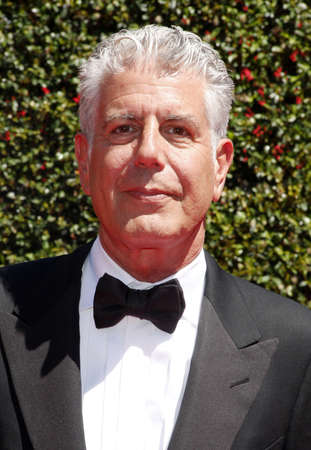 Anthony Bourdain at the 2014 Creative Arts Emmy Awards held at the Nokia Theatre L.A. Live in Los Angeles, USA on August 16, 2014.