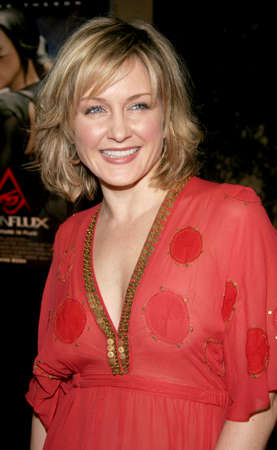flux: HOLLYWOOD, CA - DECEMBER 01, 2005: Amy Carlson at the World premiere of Aeon Flux at the Cinerama Dome in Hollywood, USA on December 1, 2005.