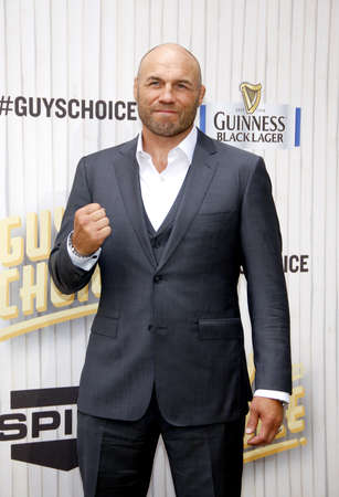 culver city: Randy Couture at the 2013 Spike TV Guys Choice Awards held at the Sony Pictures Studios in Culver City in Los Angeles, USA om June 8, 2013. Editorial