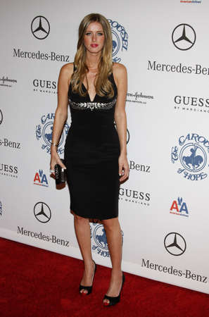 BEVERLY HILLS, CA - OCTOBER 25, 2008: Nicky Hilton at the 30th Anniversary Carousel Of Hope Ball held at the Beverly Hilton Hotel in Beverly Hills, USA on October 25, 2008. 新闻类图片