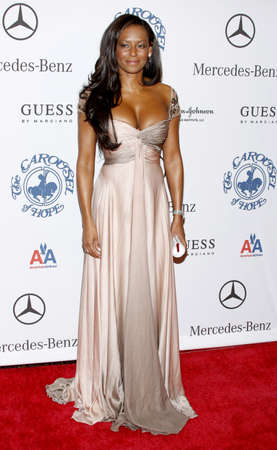 BEVERLY HILLS, CA - OCTOBER 25, 2008: Mel B at the 30th Anniversary Carousel Of Hope Ball held at the Beverly Hilton Hotel in Beverly Hills, USA on October 25, 2008.