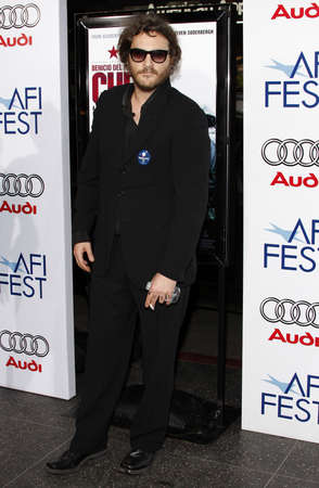 joaquin: Joaquin Phoenix at the AFI FEST 2008 Centerpiece Gala Screening Of Che held at the Graumans Chinese Theatre in Hollywood on November 1, 2008.