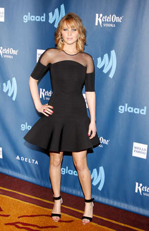 jennifer: Jennifer Lawrence at the 24th Annual GLAAD Media Awards held at the JW Marriott Hotel in Los Angeles, United States, 200413.