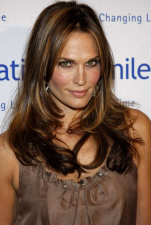 Molly Sims at the Operation Smile 25th Anniversary Gala held at the Beverly Hilton in Beverly Hills, USA on October 5, 2007. Editorial
