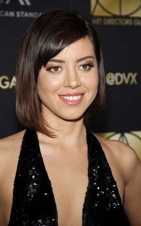 Aubrey Plaza at the 20th Annual Art Directors Guild Excellence In Production Design Awards held at the Beverly Hilton Hotel in Beverly Hills, USA on January 31, 2016. Editöryel