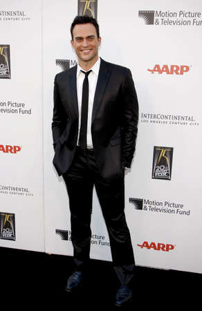 cheyenne: CENTURY CITY, CA - MAY 01, 2010: Cheyenne Jackson at the 5th Annual A Fine Romance Benefit held at the Fox Studio Lot in Century City, USA on May 1, 2010.
