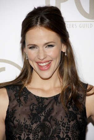pga: Jennifer Garner at the 24th Annual Producers Guild Awards held at the Beverly Hilton Hotel in Beverly Hills, USA on January 26, 2013.
