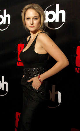 sobieski: Leelee Sobieski attends the World Premiere of 88 Minutes held at the Planet Hollywood Casino and Resort in Las Vegas, Nevada, United States on April 16, 2008.