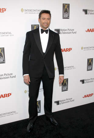 hugh: Hugh Jackman at the 5th Annual A Fine Romance Benefit held at the Fox Studio Lot in Century City, USA on May 1, 2010. Editorial