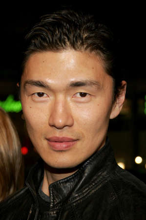 rick: Rick Yune attends the Los Angeles Premiere of 300 held at the Graumans Chinese in Hollywood, California on March 5, 2007. Editorial
