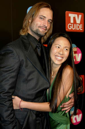 Josh Holloway attends the 57th Annual Emmy Awards TV Guide and Inside TV After Party held at the Roosevelt Hotel in Hollywood, California, on September 18, 2005. Editorial