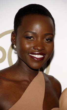 Lupita Nyongo at the 25th Annual Producers Guild Awards held at the Beverly Hilton Hotel in Los Angeles, USA on January 19, 2014. Editorial