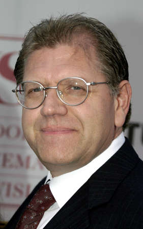 ロサンゼルス、カリフォルニア - 2004 年 9 月 26 日: 75 のダイヤモンド ・ ジュビリーのお祝い USC の映画学校のテレビのためのロバート ・ ゼメキスは 報道画像