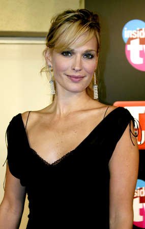 roosevelt hotel: Molly Sims attends the 57th Annual Emmy Awards TV Guide and Inside TV After Party held at the Roosevelt Hotel in Hollywood, California, on September 18, 2005.