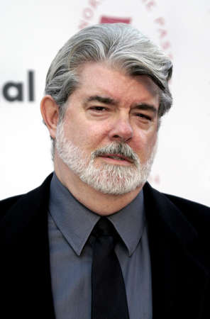 LOS ANGELES, CA - SEPTEMBER 26, 2004: George Lucas at the 75th Diamond Jubilee Celebration for the USC School of Cinema-Television held at the USCs Bovard Auditorium in Los Angeles, USA on September 26, 2004.