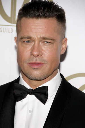 brad pitt: Brad Pitt at the 25th Annual Producers Guild Awards held at the Beverly Hilton Hotel in Los Angeles, USA on January 19, 2014.