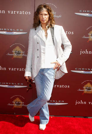west hollywood: Steven Tyler at the 9th Annual John Varvatos Stuart House Benefit held at the Varvatos Store in West Hollywood on March 11, 2012.