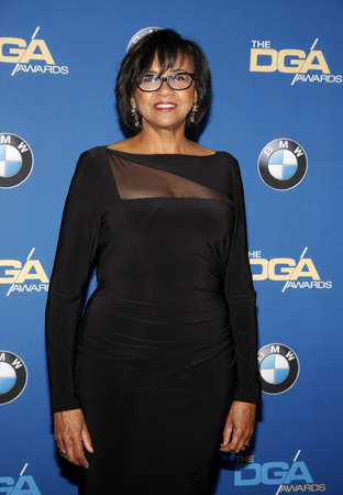 guild: Cheryl Boone Isaacs at the 68th Annual Directors Guild Of America Awards held at the Hyatt Regency Century Plaza in Los Angeles, USA on February 6, 2016.