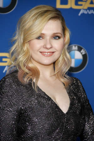 guild: Abigail Breslin at the 68th Annual Directors Guild Of America Awards held at the Hyatt Regency Century Plaza in Los Angeles, USA on February 6, 2016. Editorial