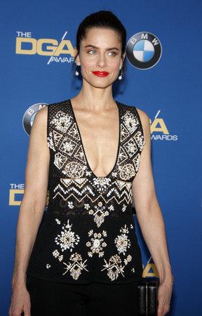 amanda: Amanda Peet at the 68th Annual Directors Guild Of America Awards held at the Hyatt Regency Century Plaza in Los Angeles, USA on February 6, 2016.
