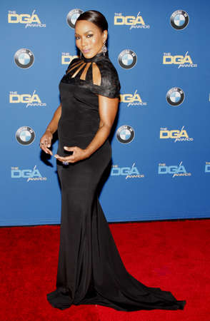 guild: Angela Bassett at the 68th Annual Directors Guild Of America Awards held at the Hyatt Regency Century Plaza in Los Angeles, USA on February 6, 2016.