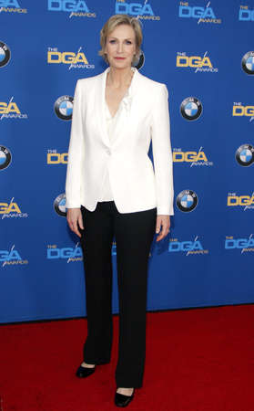 guild: Jane Lynch at the 68th Annual Directors Guild Of America Awards held at the Hyatt Regency Century Plaza in Los Angeles, USA on February 6, 2016. Editorial