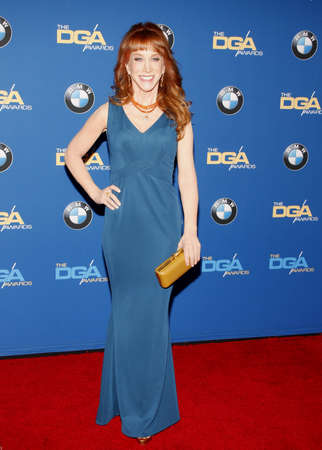 guild: Kathy Griffin at the 68th Annual Directors Guild Of America Awards held at the Hyatt Regency Century Plaza in Los Angeles, USA on February 6, 2016.