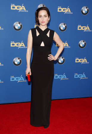 guild: Zoe Lister-Jones at the 68th Annual Directors Guild Of America Awards held at the Hyatt Regency Century Plaza in Los Angeles, USA on February 6, 2016.