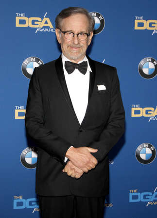 steven: Steven Spielberg at the 68th Annual Directors Guild Of America Awards held at the Hyatt Regency Century Plaza in Los Angeles, USA on February 6, 2016.