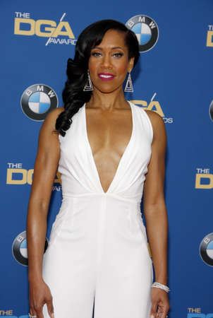 regina: Regina King at the 68th Annual Directors Guild Of America Awards held at the Hyatt Regency Century Plaza in Los Angeles, USA on February 6, 2016.
