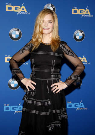 guild: Jennifer Jason Leigh at the 68th Annual Directors Guild Of America Awards held at the Hyatt Regency Century Plaza in Los Angeles, USA on February 6, 2016.