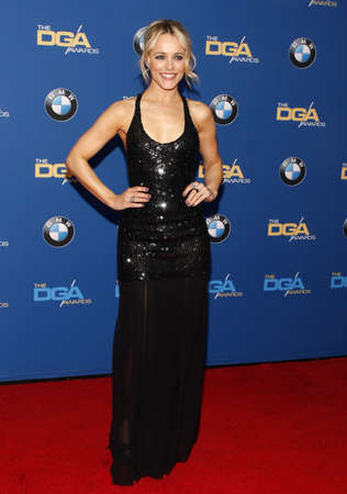 guild: Rachel McAdams at the 68th Annual Directors Guild Of America Awards held at the Hyatt Regency Century Plaza in Los Angeles, USA on February 6, 2016.