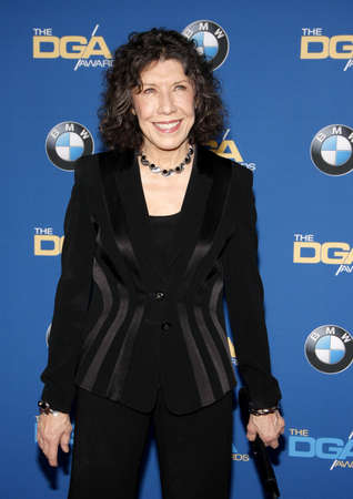 Lily Tomlin at the 68th Annual Directors Guild Of America Awards held at the Hyatt Regency Century Plaza in Los Angeles, USA on February 6, 2016.