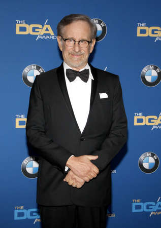 guild: Steven Spielberg at the 68th Annual Directors Guild Of America Awards held at the Hyatt Regency Century Plaza in Los Angeles, USA on February 6, 2016.