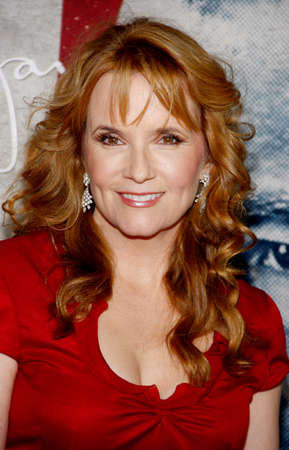 lea: Lea Thompson at the AFI FEST 2011 Opening Night Gala World Premiere Of J. Edgar held at the Graumans Chinese Theatre in Hollywood on November 3, 2011. Editorial